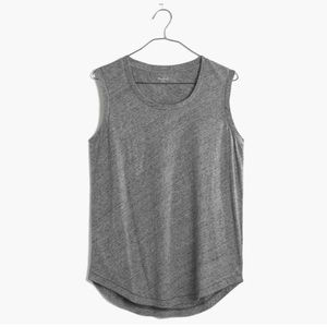 {Madewell} Whisper Cotton Crewneck Muscle Tank